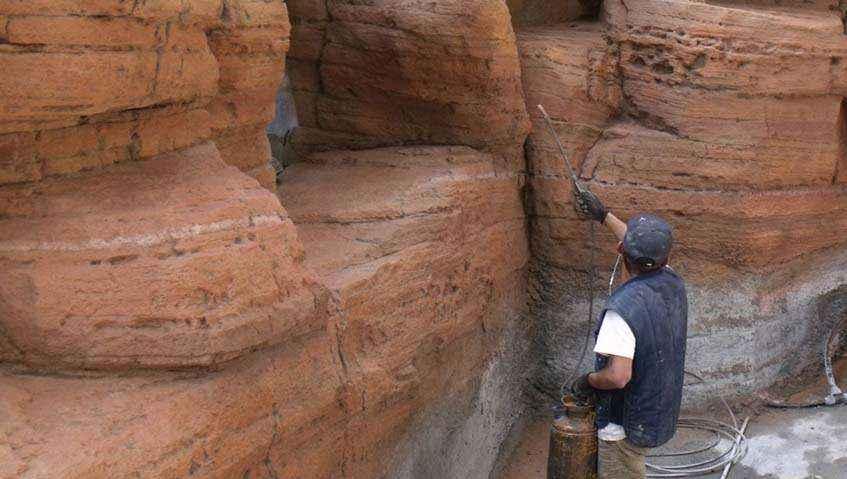 sztuczne skały jak zbudować