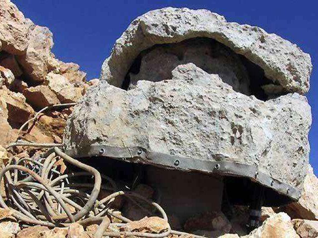 Sztuczne skały maskujące instalacje wojskowe