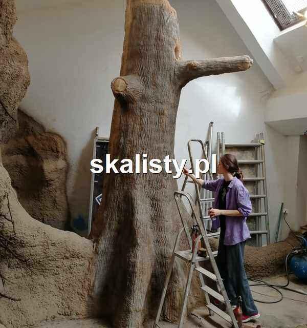 Jak malujemy sztuczne drzewa