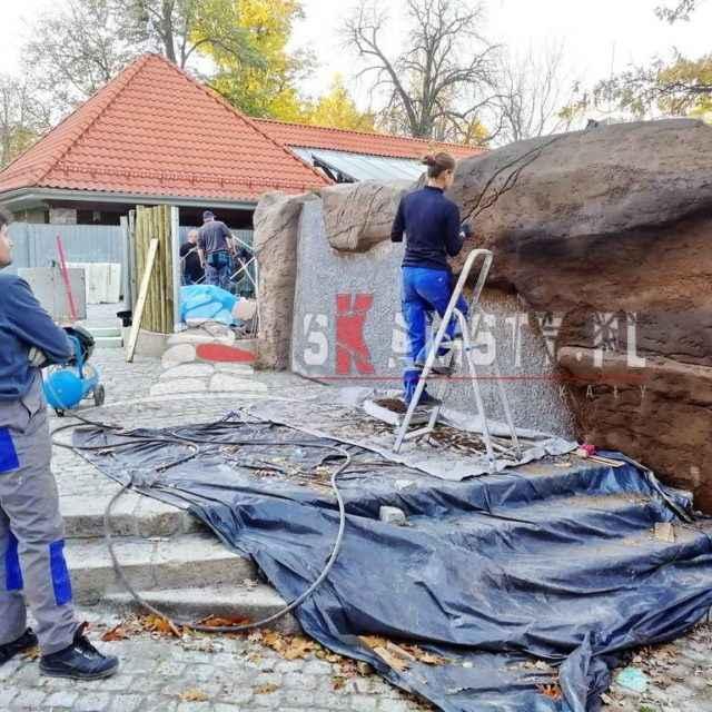 jak budujemy sztuczne skały zoo wrocław