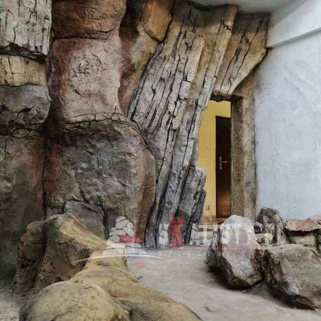 sztuczny kamień na ścianę